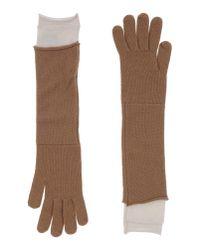Gentry Portofino | Natural Gloves | Lyst