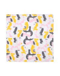 Jil Sander | Pink Square Scarf for Men | Lyst