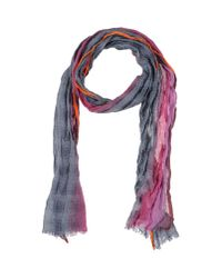 Paul Smith | Gray Oblong Scarf | Lyst
