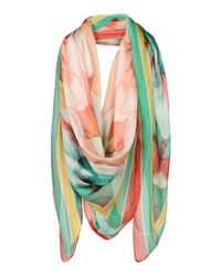 Angelo Marani | Pink Square Scarf | Lyst