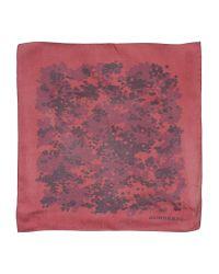 Burberry - Purple Square Scarf - Lyst