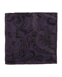 DSquared² - Purple Square Scarf for Men - Lyst