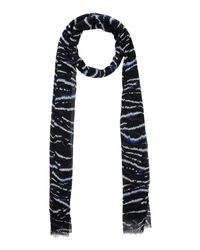 French Connection | Blue Scarf | Lyst
