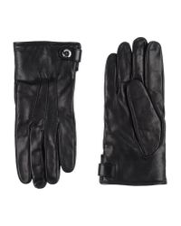 Prada - Black Gloves for Men - Lyst