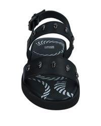 Class Roberto Cavalli - Black Sandale for Men - Lyst