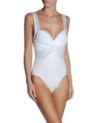 Norma Kamali | White Cover-up | Lyst