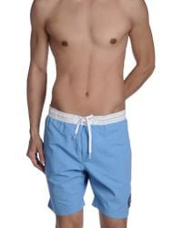 Napapijri - Blue Swim Trunks for Men - Lyst