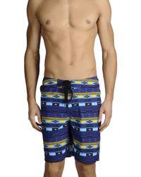 Carhartt - Blue Swim Trunks for Men - Lyst