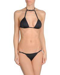 Plein Sud - Black Bikini - Lyst