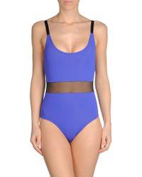Beth Richards | Purple One-piece Swimsuit | Lyst