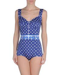 Dolce & Gabbana - Blue Costume - Lyst