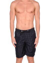 Armani Jeans | Blue Swimming Trunks for Men | Lyst