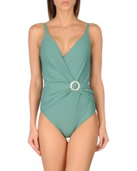Rosa Cha | Green One-piece Swimsuit | Lyst
