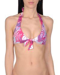 EA7 | Purple Bikini Top | Lyst
