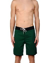 Lightning Bolt | Green Beach Shorts And Pants for Men | Lyst