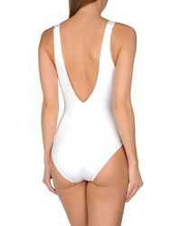 Les Copains - White Costume - Lyst