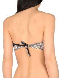 Fisico - Black Bikini Top - Lyst