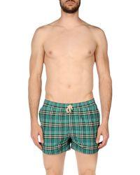 Burberry - Green Swim Trunks for Men - Lyst