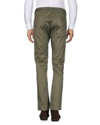 DIESEL - Green Casual Pants for Men - Lyst