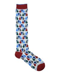 Gallo - Gray Short Socks for Men - Lyst