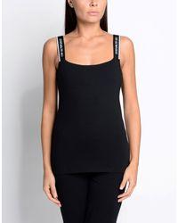 Emporio Armani - Black Sleeveless Undershirt - Lyst