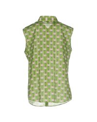Alessandro Dell'acqua - Green Shirt - Lyst