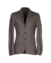 Armani | Gray Blazer for Men | Lyst