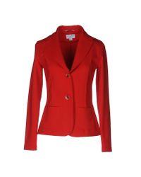 Piu' & Piu' - Red Blazer - Lyst