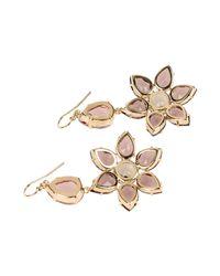 Alberta Ferretti - Purple Earrings - Lyst