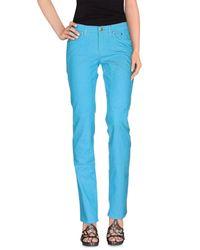 Jeckerson - Blue Denim Pants - Lyst