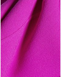 Oscar de la Renta - Purple Knee-length Dress - Lyst