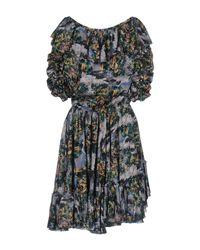 Faith Connexion - Green Short Dress - Lyst