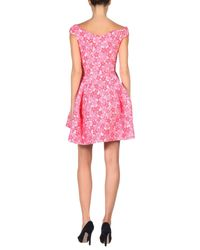 Simone Rocha - Pink Short Dress - Lyst