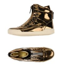 DSquared² - Metallic High-tops & Trainers for Men - Lyst