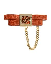 DSquared² - Brown Brooch - Lyst