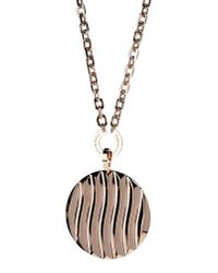 Rebecca - Metallic Necklace - Lyst