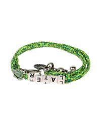 Venessa Arizaga | Green Bracelet | Lyst