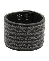 White Mountaineering | Black Bracelet | Lyst