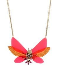 Matthew Williamson - Red Necklace - Lyst