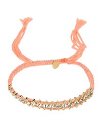 Shashi - Pink Bracelet - Lyst