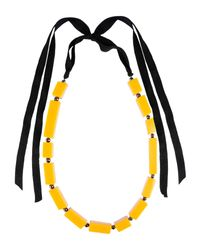 Stefanel | Yellow Necklace | Lyst