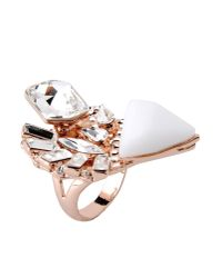 Jenny Packham | Metallic Ring | Lyst