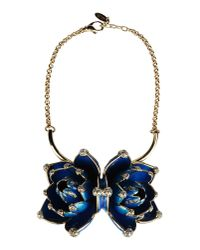 Roberto Cavalli | Blue Necklace | Lyst