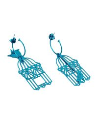 Loroetu   Blue Earrings   Lyst