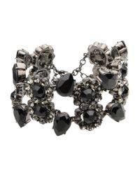 Roberto Cavalli | Black Bracelet | Lyst