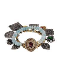 Mawi - Green Bracelet - Lyst