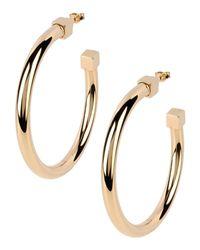 Maison Margiela | Metallic Earrings | Lyst