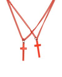 DSquared² - Red Necklace for Men - Lyst