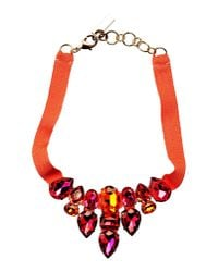 Caterina Capelli - Red Necklace - Lyst