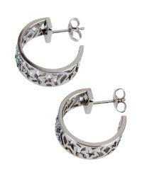 Thierry Mugler - Metallic Earrings - Lyst